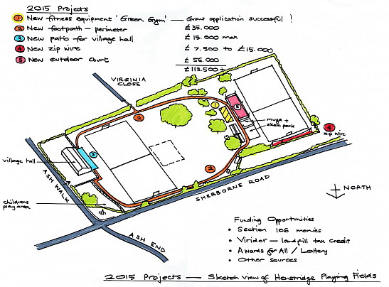 Playing Field plans